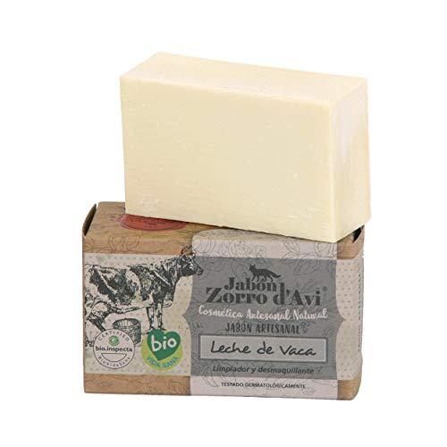 Jabón Zorro D'Avi Jabón Natural Ecológico de Leche de Vaca - 120 gr