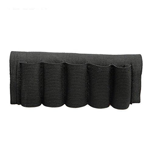 Cartuchera Canana Pierana para Brazo 5 Cartuchos Escopeta de Caza Elastico Negro 4524