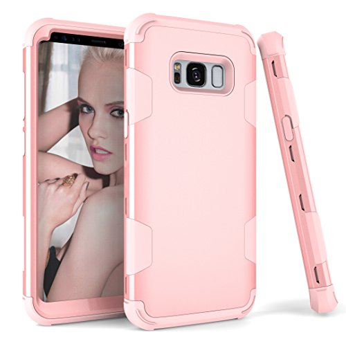 AOKER Galaxy S8 Plus Funda, Hybrid Heavy Duty a Prueba de Golpes Plástico rígido + Suave Silicona Caucho Armor Defender Protección de Impacto Mejor Funda Protectora para Samsung Galaxy S8 Plus