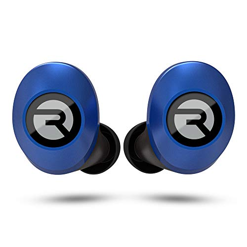 Raycon E25 Wireless Earbuds Bluetooth Headphones - Bluetooth 5.0 Bluetooth Earbuds Stereo Sound in-Ear Bluetooth Headset True Wireless Earbuds 24 Hours Playtime and Built-in Microphone Blue