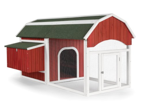 Prevue 465 Barn Chicken Coop, Red