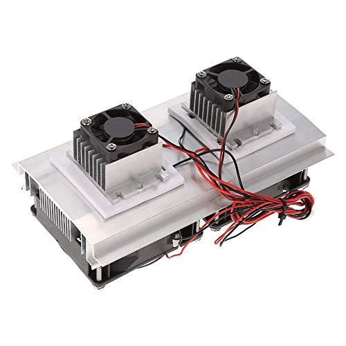 ROEAM Thermoelektrische Peltier-Kühlung Kühlsystem Kit Semiconductor Große Kühlbox Kühler Kalt Conduction Module Doppel Fans