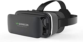 XGVRYG Auriculares de Realidad Virtual, Gafas Ajustables 3D VR compatibles con teléfonos Inteligentes de 4.5-6.0 Pulgadas