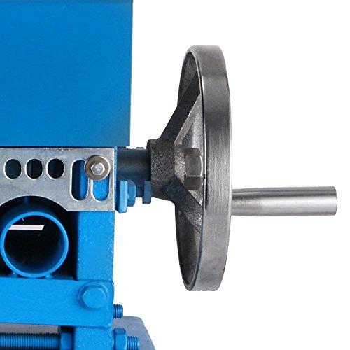 Chrisun Machine électrique Dénuder Pour Les Cables De Φ1,5mm-Φ38mm Machine à Dénuder Le Cuivre électrique De 220V Avec 11 Multi-trous