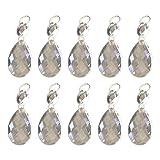 decaden Geschenk für Frauen, Damen Halskette Kristallgitter Kristall Anhänger Damenschmuck, Elegante Geschenkbox 7cm