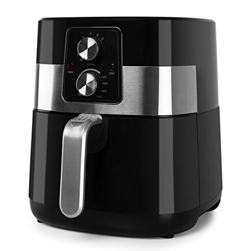 Friteuse électrique sans huile. (Cuisine saine, avec moins de calories) Frie, poignée et cuisine par convection d'air chaud. ORBEGOZO FDR 24 4L