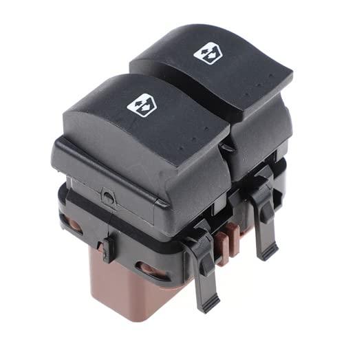 YSAZA Interruptor de Control de Ventana, botón Maestro Delantero Izquierdo, para Renault Megane MK II 2002 2003 2004-2014 Scenic II 2 Espace IV 8200315040