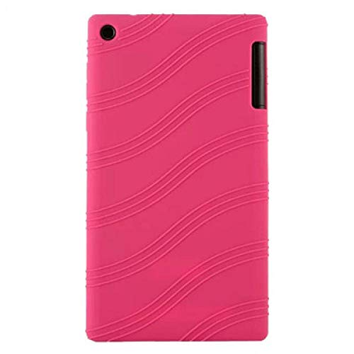 Silicon Case For Lenovo Tab 2 A7-30HC A7-30GC A7-30TC A7-30DC Soft Back Protect Shell For Lenovo Tab2 7.0 A7-30-Pink
