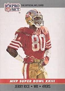 Football NFL 1990 Pro-Set Pro-Set #23 Jerry Rice NM-MT