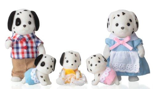 Sylvanian Families dolls Dalmatian family FS-18 (japan import)