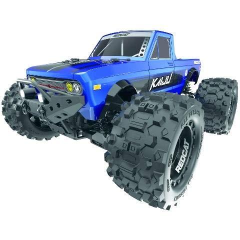 Redcat Racing Kaiju - 1:8 Scale Monster Truck – RTR- 6S Ready, Blue (Kaiju-Blue)