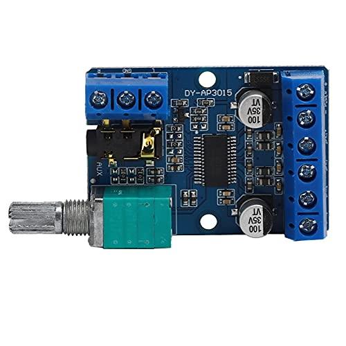 Módulo amplificador estéreo, placa amplificadora de potencia fácil de instalar para entusiastas del amplificador de bricolaje