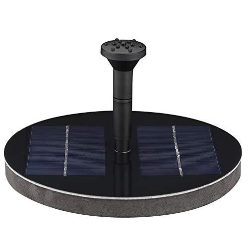 Fonteinpomp op zonne-energie. 6 W zonne-waterpomp zwemfontein voor vogelbaden & vijvers & aquarium