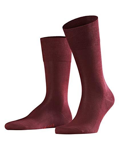 FALKE Herren Socken Tiago - 95% Baumwolle, 1 Paar, Rot (Barolo 8596), Größe: 43-44