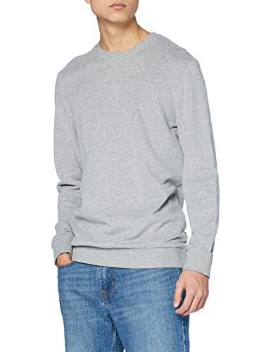 edc by ESPRIT Herren 990CC2J304 Sweatshirt, Medium Grey (039), XL