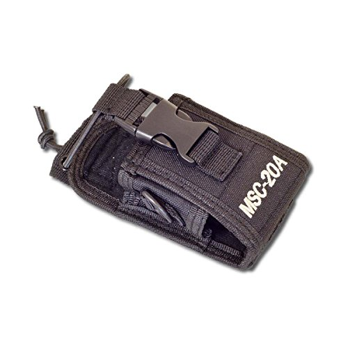 vhbw Funkgerät Tasche passend für Kenwood, Motorola, Yaesu, Vertex, Icom, Alinco, Albrecht, Detewe, Baofeng, Midland, Topcom, UVM. 65 x 55 x 125mm