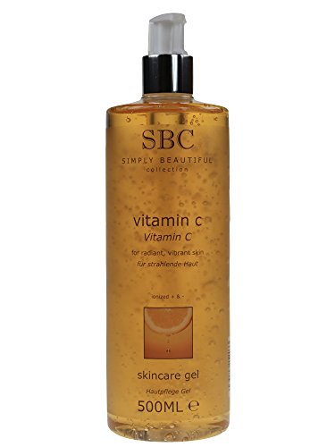 SBC Vitamin C Skincare Gel 500 ml - Vitamin C Hautpflege Gel