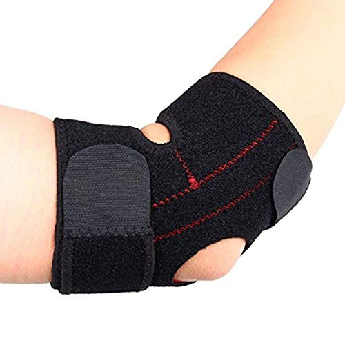 Compression Elbow Wrap, Yosoo Adjustable Neoprene Elbow Brace Wrap Arm Support Strap Band for Tennis and Golfers