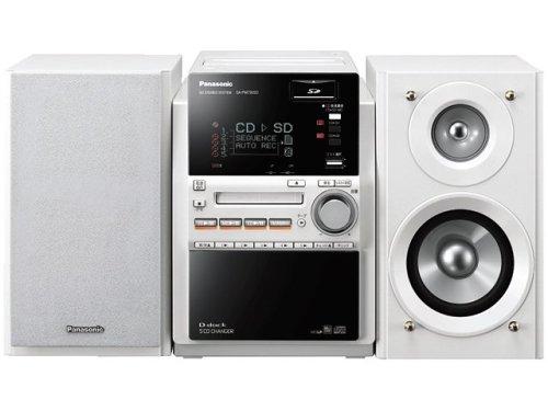 Panasonic D-dock SDステレオシステム(ホワイト) SC-PM730SD-W