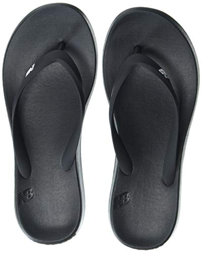 New Balance Men's 24 V1 Flip Flop Sandal, Light Aluminum/Virtual Sky, 7
