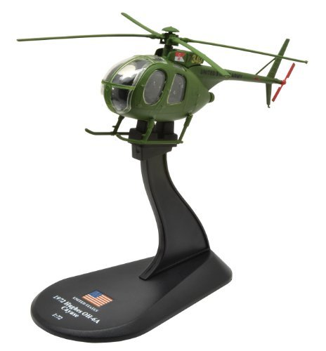 Hughes OH-6 Cayuse diecast 1:72 helicopter model (Amercom HY-47)