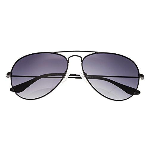 Bertha Brooke Damen Sonnenbrille, polarisiert, Schwarz / Schwarz