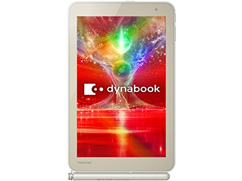 東芝 dynabook Tab S68/NG (Windows8.1 with Bing 32bit / 8.0inch / Atom Z3735 / 2GB / 64GB / MS Office Home and Business 2013) S68/NG