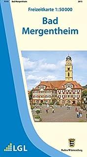 F515 Bad Mergentheim (Freizeitkarten 1:50000 / Mit Touristis