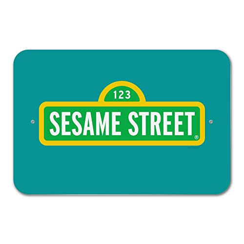 GRAPHICS & MORE Sesame Street Logo Home Business Office Sign