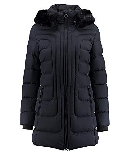 Wellensteyn Damen Jacke Belvedere Long, Marineblau, XL
