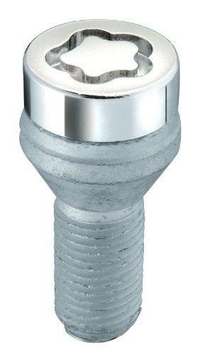27179SU Radsicherungsbolzen SU (Standard) M12 x 1,50, Kegelsitz, Schaftlänge 25,5 mm, Gesamtlänge der Schraube 49,5 mm, SW17, Schlüsseldurchmesser 25,8 mm