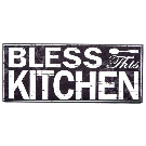Black & White Bless This Kitchen Wood Wall Decor | Hobby Lobby | 961649