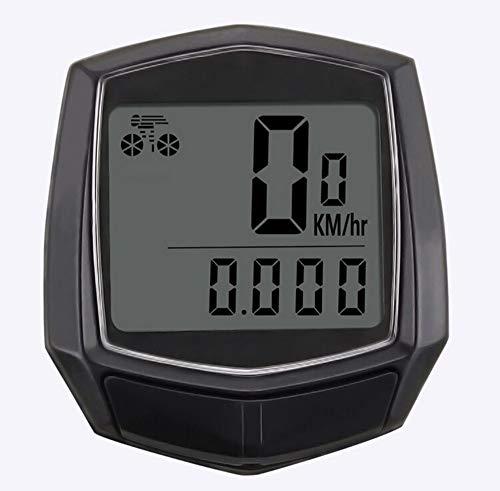 YINGY - Reloj de pulsera para bicicleta (resistente al agua, con cable,...