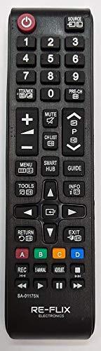 Re-Flix Ersatzfernbedienung BN59-01175N für Samsung UE55H6470