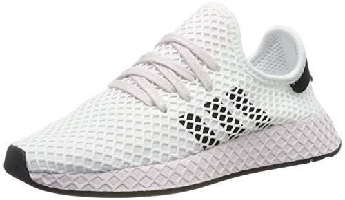 adidas Damen Deerupt Runner Sneaker, Weiß (Footwear White/Core Black/Orchid Tint 0), 40 EU