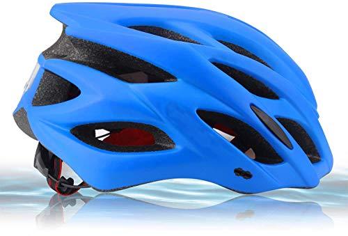 Zamelux Casco para Bicicleta Patinete con luz de Seguridad con Visera Ajustable...