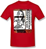 Bella Thorne Star Smoking T-Shirt Cotton Shirt Tee Short Sleeve for Mens Black,Red,M