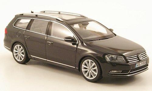 VW Passat Variant (B7), dkl.-grau, 2010, Modellauto, Fertigmodell, Schuco 1:43