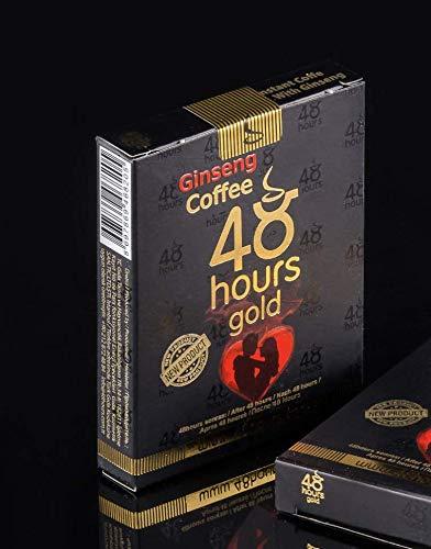 Potenz Kaffee mit Ginseng Pflanzliches Potenzmittel Aphrodisierender löslicher Kaffee