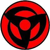 KyokoVinyl Naruto - Mangekyo Sharingan Kakashi/Itachi/Sasuke/Madara Anime Decal Sticker (Kakashi)(3.0' x 3.0')