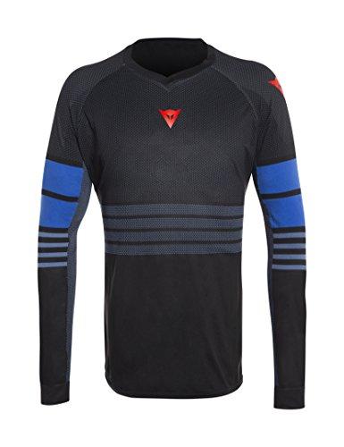 Dainese Herren Fahrrad Jersey Hg 1, Iris-Schwarz/Blau-Aster, L, 3899534_Y71_L