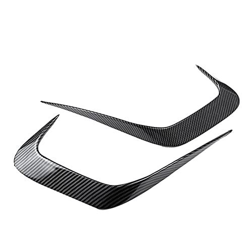 HFDDF Splitter Wing Spoiler, para G20 G28 2019-2020 Fibra de Carbono Coche Trasero Parachoques