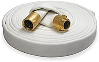 Key Fire Rack & Reel Fire Hose, White, 1-1/2