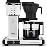 Technivorm Moccamaster 59616 KBG, 10-Cup Coffee Maker, 40 oz, Polished Silver