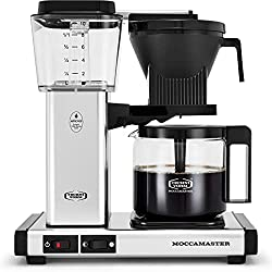 Technivorm Moccamaster 59616 KBG Coffee Brewer, 40 oz, Polished Silver