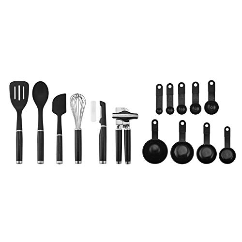 KitchenAid Classic Tool and Gadget Set, 15-Piece Black
