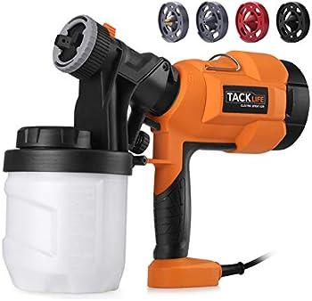 Tacklife High Power HVLP Home Electric Paint Spray Gun