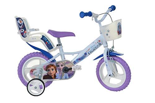 Robbie Toys DINO126 RL-FZ Disney Frozen Kinderfiets, Blauw
