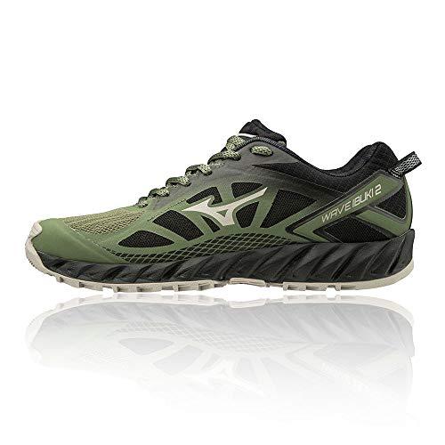 Mizuno Wave Ibuki 2, Zapatillas de Trail Running Mujer, Black, 39 EU