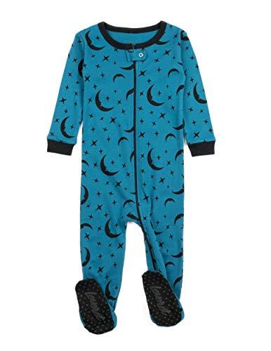 Leveret Kids /& Toddler Boys Girls Footed Pajamas 100/% Cotton Rhino Size 4 Years